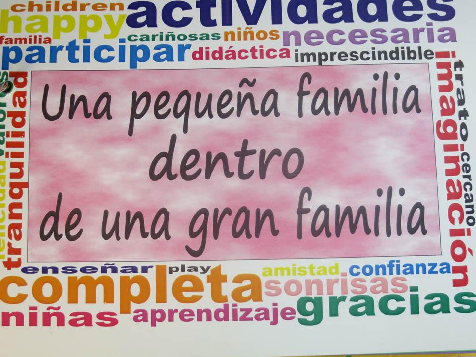 Una pequeña familia...