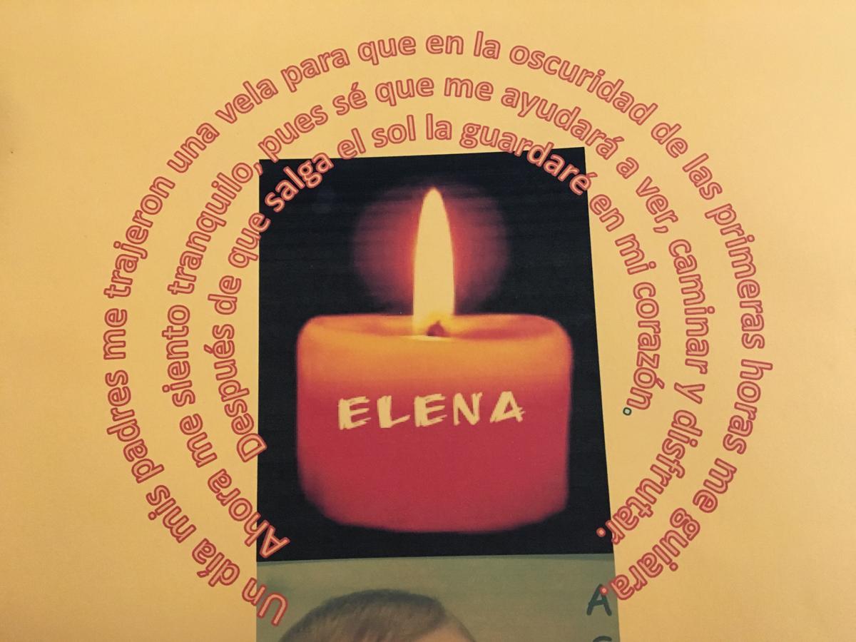 Mis padres me trajeron una vela para que en la oscuridad guiara mi Camino